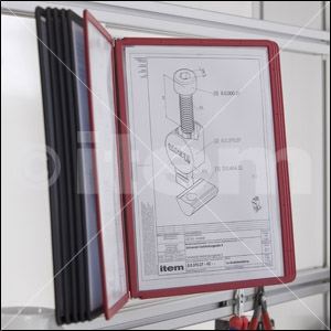 Display Panel PP, black
