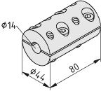 Synchronwellen-Ausgleichskupplung VK14