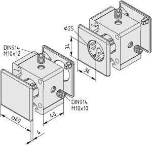 Wellenklemmblocksatz 8 D25