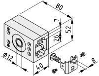 Zahnriemenantrieb GSF 8 40 R10