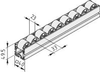 Rollenbahn 6 40x40 E D30