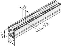 Rollenbahn 6 40x40 E D30 D11