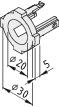 Plain Bearing Sleeve D30/D20 ESD, black
