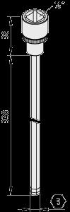 Schraubendrehereinsatz SW8-1/2″