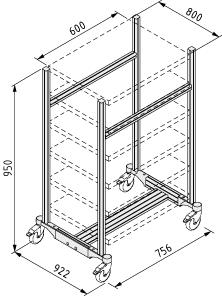 SystemMobil-Rahmen U81M
