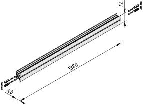 Behälteraufnahme E 1500 F