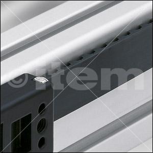 Zahnriemen R25 T10, schwarz