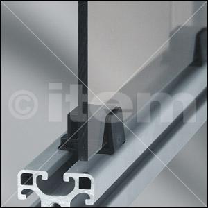 Klemm-Multiblock 6 PA, schwarz