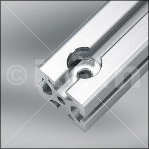 Anschlussbearbeitung Stufenbohrung D25x20