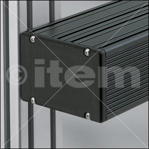 Elektronikgehäuse-Deckel 8 120x80, glatt