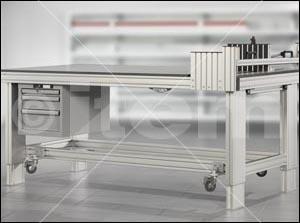 Tischsäulensatz 4 E 120V