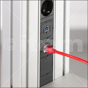 Medienleiste-Einsatz USB K56