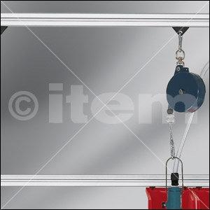 Werkzeugschlitten 8, schwarz