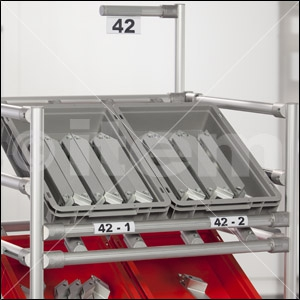 Label Holder D30 flex, transparent