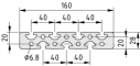 Profil 8 160x28, natur